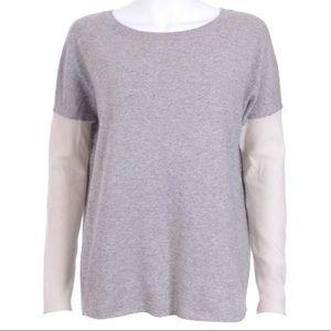 Vince cashmere blend colorblock sweater rag bone